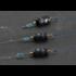 Карабин со свинцовой лентой на веретене и силиконовым стопором, AOHU (3 шт)