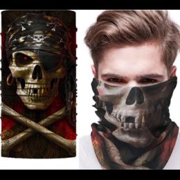 """Бандана, защитная маска """"Пират"""""""