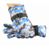 Теплые зимние перчатки PIX (синий камуфляж)
