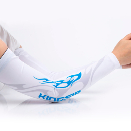 Защитные рукава (Arm Sleeve) Kingsir, бело-голубые