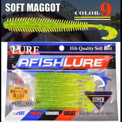Твистер AfishLure - Soft Maggot (10шт)