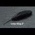 """Слаг Fishclone """"Lazy slug"""" 50мм СЫР (черный) (6шт в упак.)"""