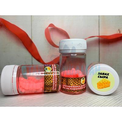 Личинка Light Pink (сыр) 3.5см